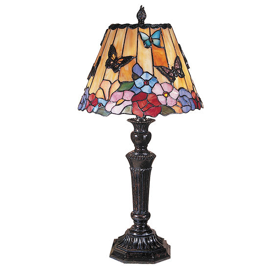 Dale Tiffany™ Butterfly/Peony Table Lamp