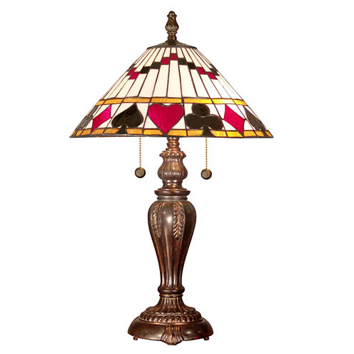 Dale Tiffany™ Royal Flush Table Lamp
