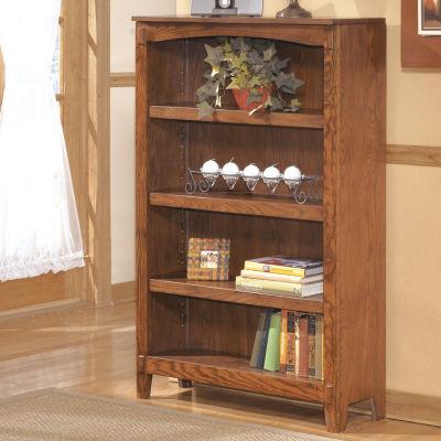 Signature Design by Ashley Cross Island 3-Shelf Bookcase