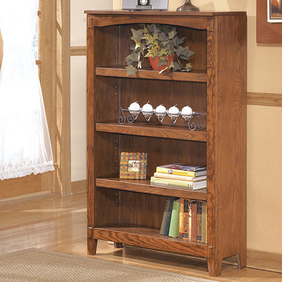Signature Design By Ashley Cross Island 3 Shelf Bookcase