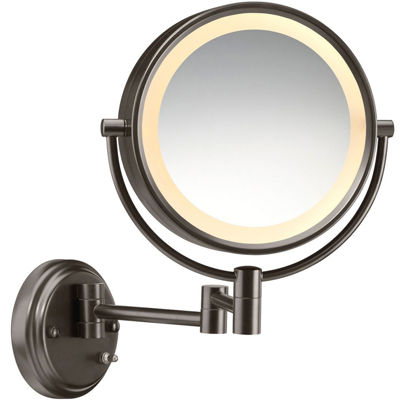 Conair BE6BXBR Incandescent Oiled-Bronze Wall-Mount Mirror
