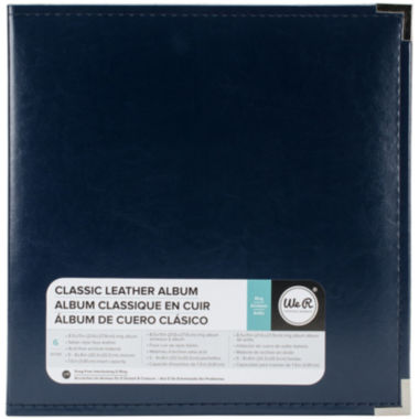 We R Memory Keepers® Post Bound Leather Album