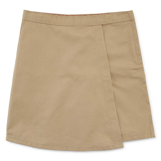 Dickies Little Girls Mid Rise Skort