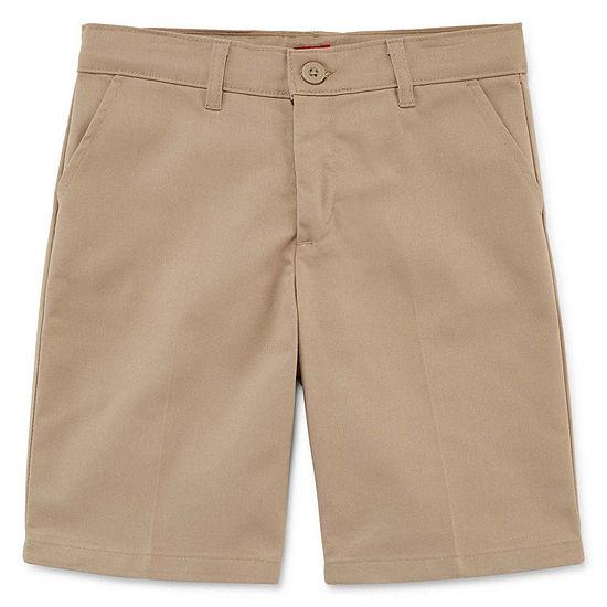 Dickies Big Girls Slim Mid Rise Bermuda Short