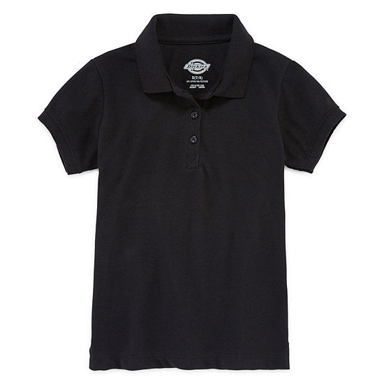 Dickies® Short-Sleeve Piqué Polo Shirt - Girls 7-16