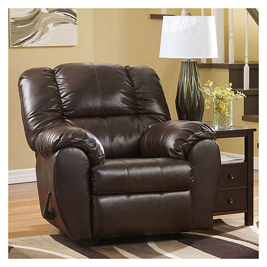 Signature Design By Ashley Dylan Durablend Rocker Recliner Jcpenney