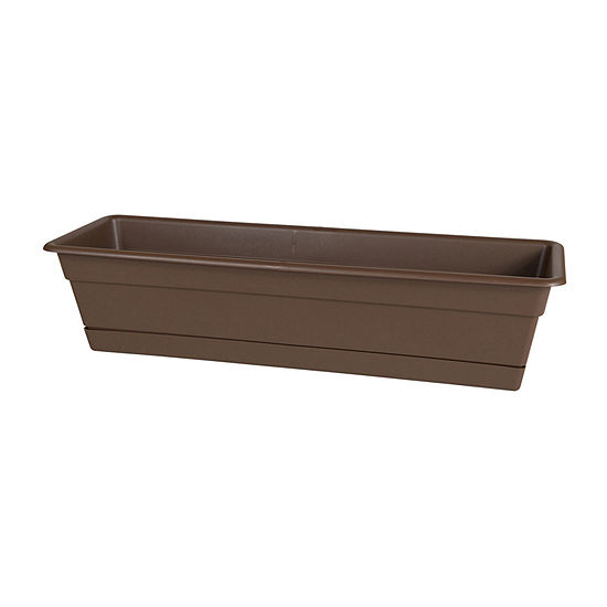 "Bloem Dura Cotta Window Box Planter - 30"""