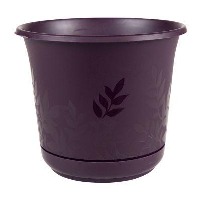 "Bloem Freesia 6"" Planter with Saucer"""