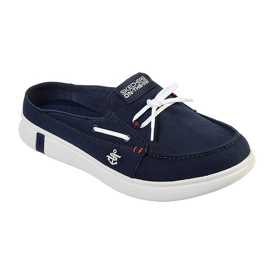 Skechers Womens Glide Ultra Sail Boat Shoes