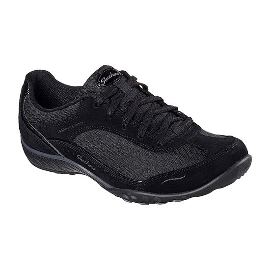 Skechers Womens Breath Easy-Simply Sincere Oxford Shoes