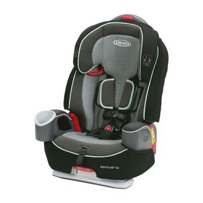 Graco Nautlius 3-In-1 Harness Landry Booster Car Seat