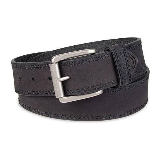 Columbia™ Leather Double-Stitch Casual Belt
