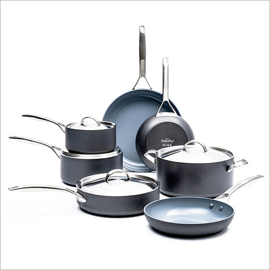 Paris Pro Ceramic Nonstick 11-pc. Cookware Set