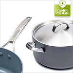 Paris Pro Ceramic Nonstick 8-QT Covered Stockpot