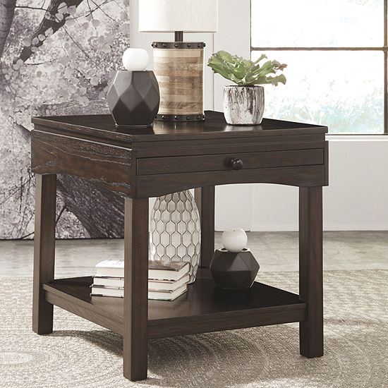 Jcpenney Table: Signature Design By Ashley® Haddigan Storage End Table