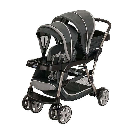Graco Ready 2 Grow Click Connect Lx Glacier Full Size Stroller
