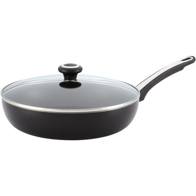 "Farberware® 12"" High Performance Nonstick Covered Deep Skillet"