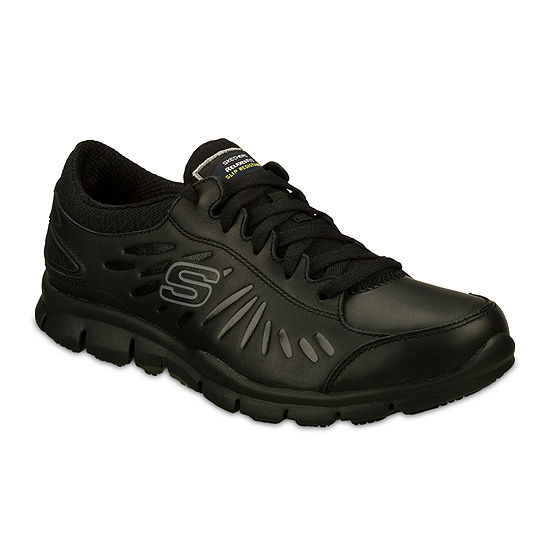 Skechers® Eldred Slip Resistant Womens Work Shoes