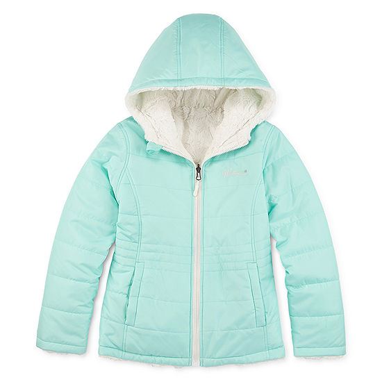 Weatherproof Girls Reversible Fur Jacket