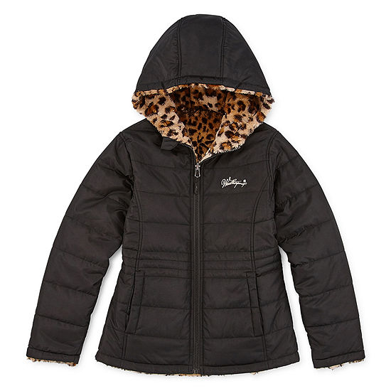 Weatherproof Girls Reversible Fur Jacket