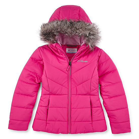 Columbia Little & Big Girls Water Resistant Midweight Puffer Jacket