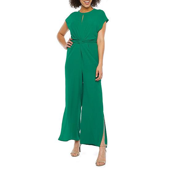 London Style Short Sleeve Jumpsuit