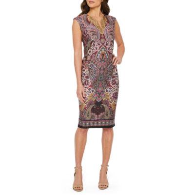 Weslee Rose Sleeveless Sheath Dress