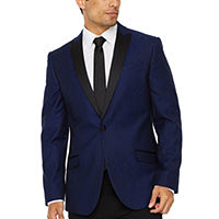 Deals on JF J.Ferrar Evening Edition Snakeskin Mens Sport Coat