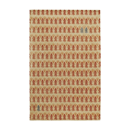 Capel Twigs Hand Tufted Rectangular Rugs