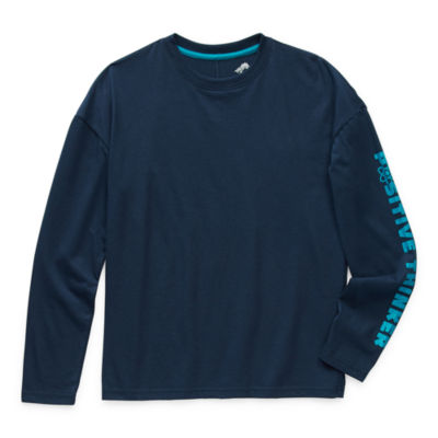 Thereabouts Little & Big Boys Crew Neck Long Sleeve T-Shirt