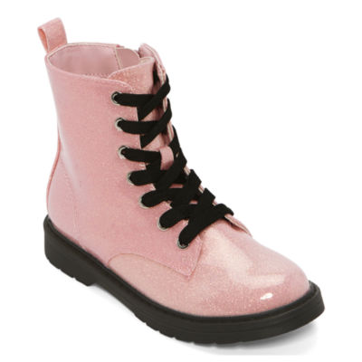 Thereabouts Big Kids Girls Inflow Combat Boots Flat Heel
