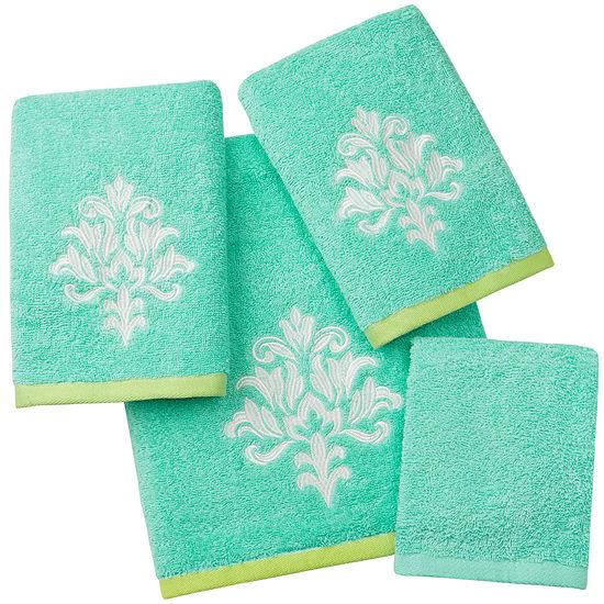 Ideology Katelyn Medallion Bath Towels