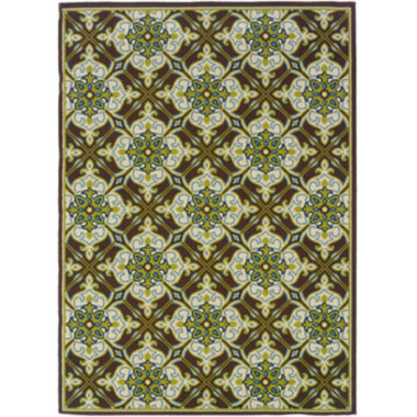 Covington Home Tiles Indoor/Outdoor Rectangular Rug
