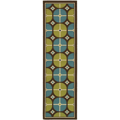 Covington Home Disc Indoor/Outdoor Rectangular Rug