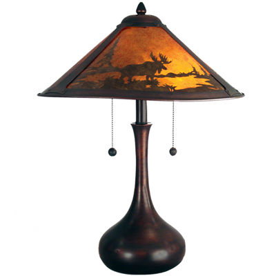 Dale Tiffany™ Wilderness Mica Table Lamp
