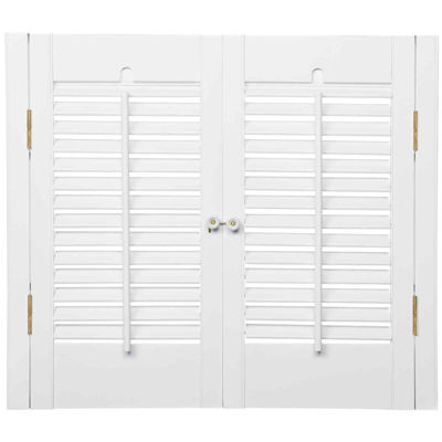 Charming JCPenney Home™ Traditional Wood Interior Shutters U2013 2 Panels