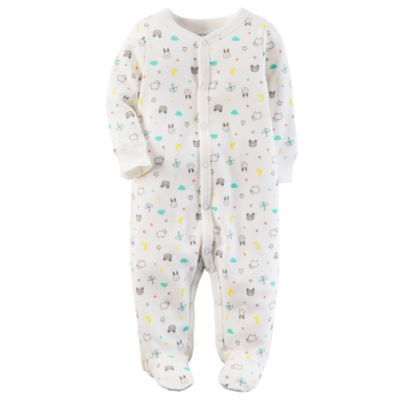 Carter's Sleep and Play Interlock Long Sleeve Snap - Baby