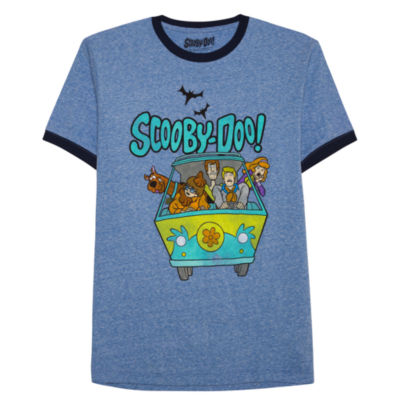 Short Sleeve Scooby Doo Graphic T-Shirt