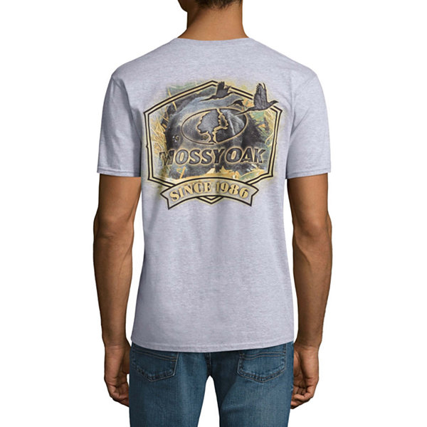 Mossy Oak Short Sleeve Crew Neck T-Shirt