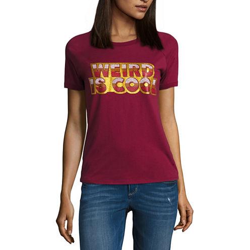 "Arizona ""Weird is Cool"" Graphic T-Shirt- Juniors"