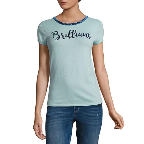 "Arizona ""Brilliant"" Graphic T-Shirt- Juniors"