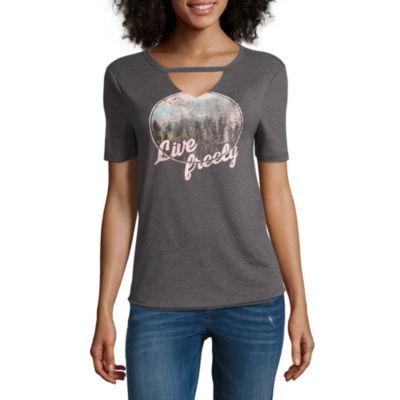 """Arizona """"Live Freely"""" Graphic T-Shirt- Juniors"""