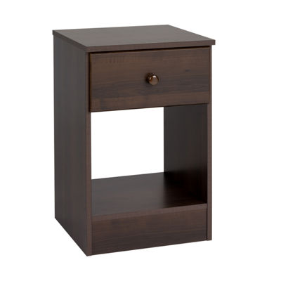 Prepac Astrid Tall 1-Drawer Nightstand