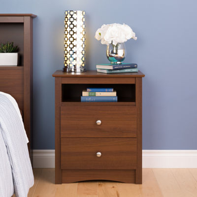 Prepac Sonoma 2-Drawer Nightstand