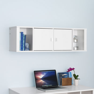 Floating Desk Hutch