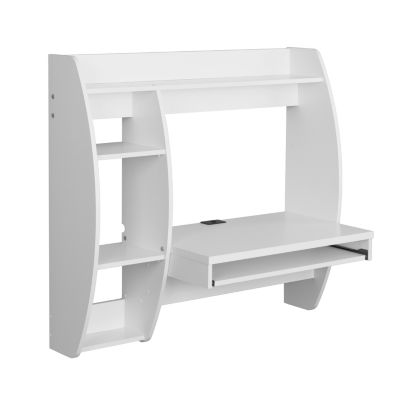 Prepac Floating Desk with keyboard tray
