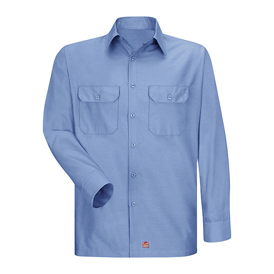 Red Kap® Long-Sleeve Solid Ripstop Shirt - Big & Tall