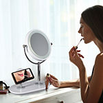 OttLite Wireless Charging LED Makeup Mirror