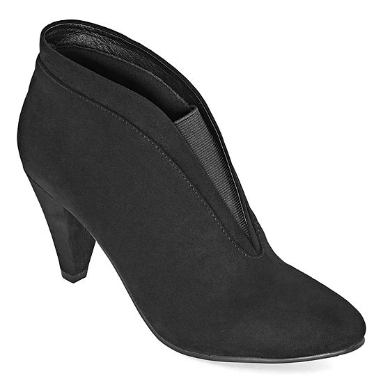 CL by Laundry Womens Nurture Cone Heel Booties