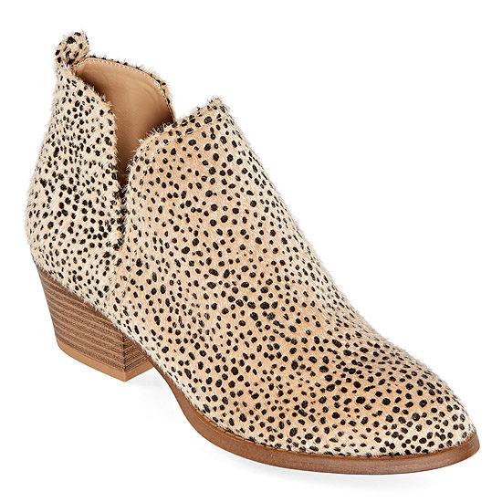 CL by Laundry Womens Cicie Stacked Heel Booties